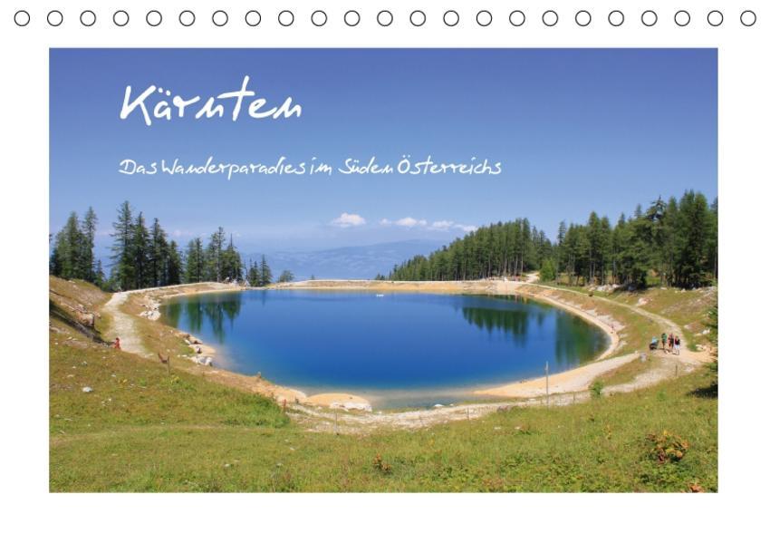 Kärnten - Das Wanderparadies im Süden Österreichs (Tischkalender 2017 DIN A5 quer) - Coverbild