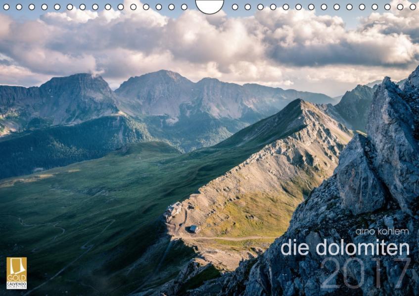 die dolomiten (Wandkalender 2017 DIN A4 quer) - Coverbild