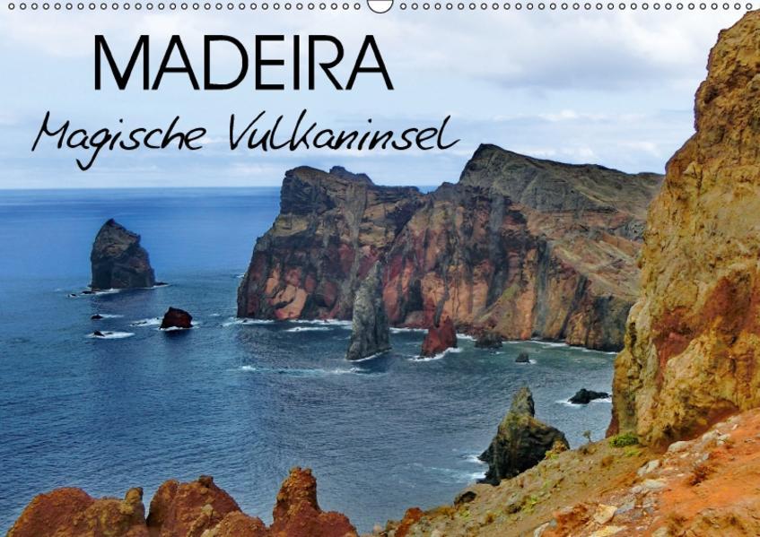 Madeira Magische Vulkaninsel (Wandkalender 2017 DIN A2 quer) - Coverbild