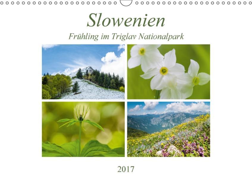 Slowenien - Frühling im Triglav Nationalpark (Wandkalender 2017 DIN A3 quer) - Coverbild