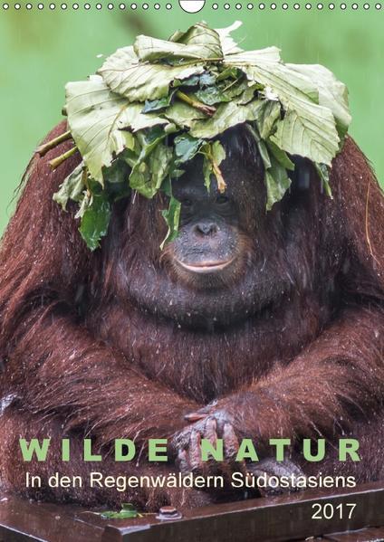 Wilde Natur - In den Regenwäldern Südostasiens (Wandkalender 2017 DIN A3 hoch) - Coverbild