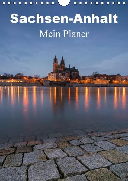 Sachsen-Anhalt - Mein Planer (Wandkalender 2017 DIN A4 hoch) - Coverbild