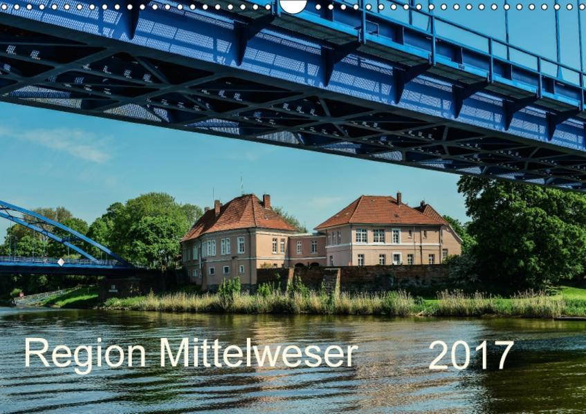 Region Mittelweser (Wandkalender 2017 DIN A3 quer) - Coverbild