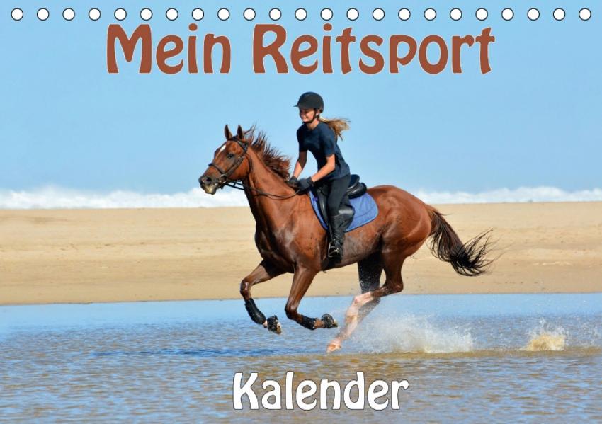Mein Reitsport Kalender (Tischkalender 2017 DIN A5 quer) - Coverbild