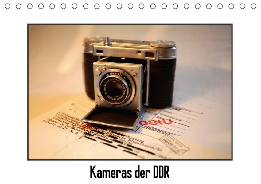 Kameras der DDR (Tischkalender 2017 DIN A5 quer) - Coverbild