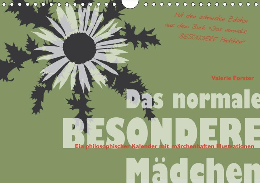 Das normale BESONDERE Mädchen - Kalender (Wandkalender 2017 DIN A4 quer) - Coverbild