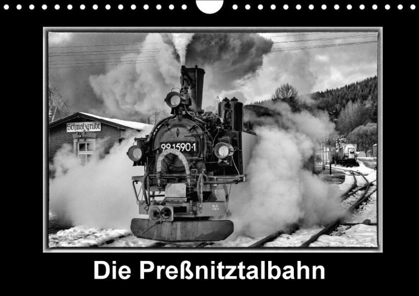 Die Preßnitztalbahn (Wandkalender 2017 DIN A4 quer) - Coverbild