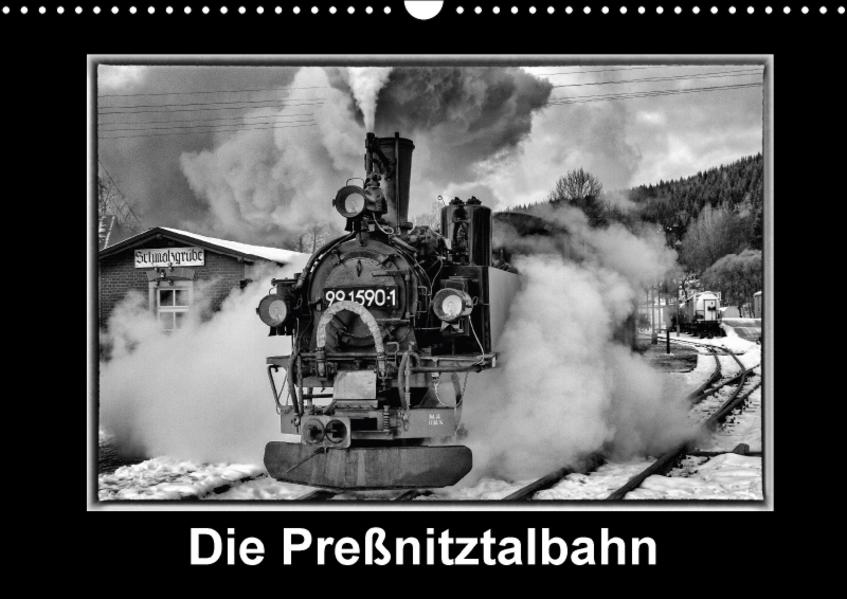 Die Preßnitztalbahn (Wandkalender 2017 DIN A3 quer) - Coverbild