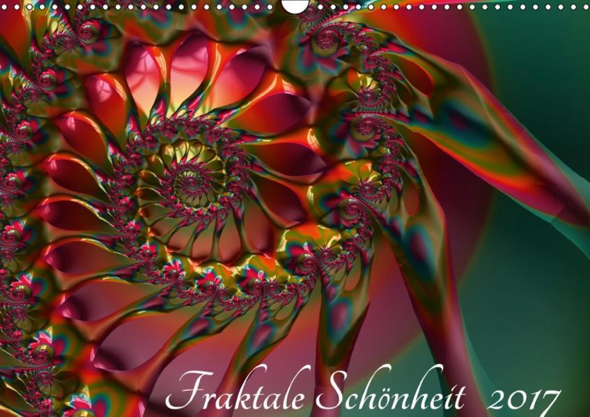 Fraktale Schönheit 2017 (Wandkalender 2017 DIN A3 quer) - Coverbild