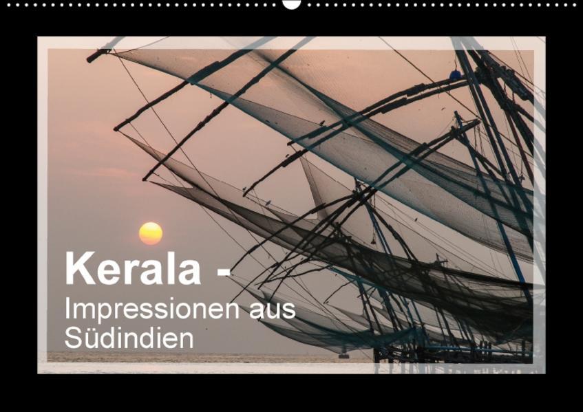 Kerala - Impressionen aus Südindien (Wandkalender 2017 DIN A2 quer) - Coverbild