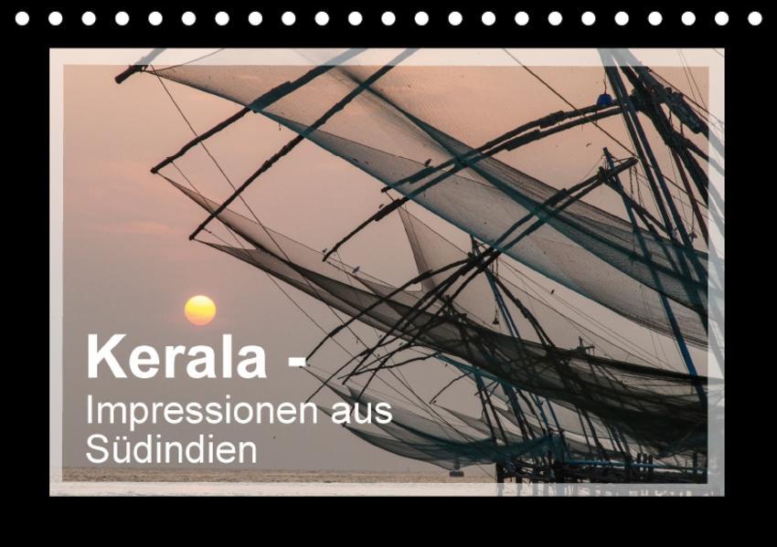 Kerala - Impressionen aus Südindien (Tischkalender 2017 DIN A5 quer) - Coverbild