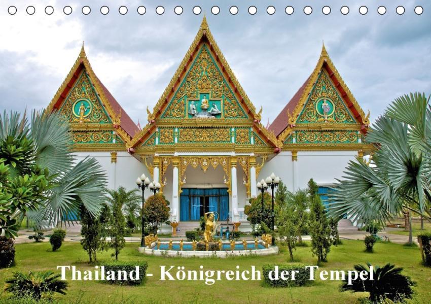 Thailand - Königreich der Tempel (Tischkalender 2017 DIN A5 quer) - Coverbild