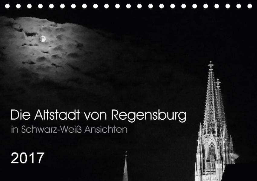 Die Altstadt von Regensburg (Tischkalender 2017 DIN A5 quer) - Coverbild