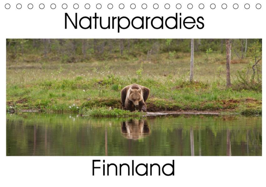 Naturparadies Finnland (Tischkalender 2017 DIN A5 quer) - Coverbild