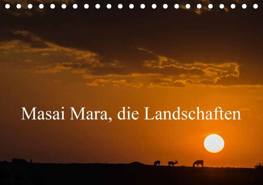 Masaï Mara, die LandschaftenCH-Version  (Tischkalender 2017 DIN A5 quer) - Coverbild