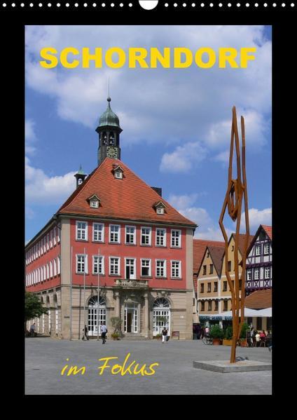 Schorndorf im Fokus (Wandkalender 2017 DIN A3 hoch) - Coverbild