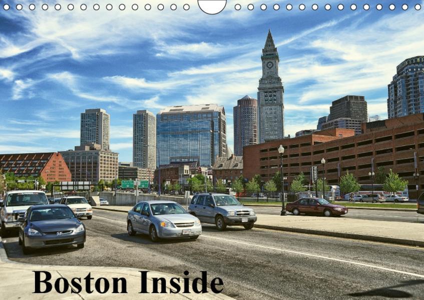 Boston Inside (Wandkalender 2017 DIN A4 quer) - Coverbild