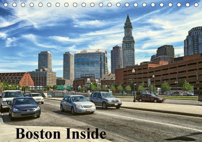 Boston Inside (Tischkalender 2017 DIN A5 quer) - Coverbild