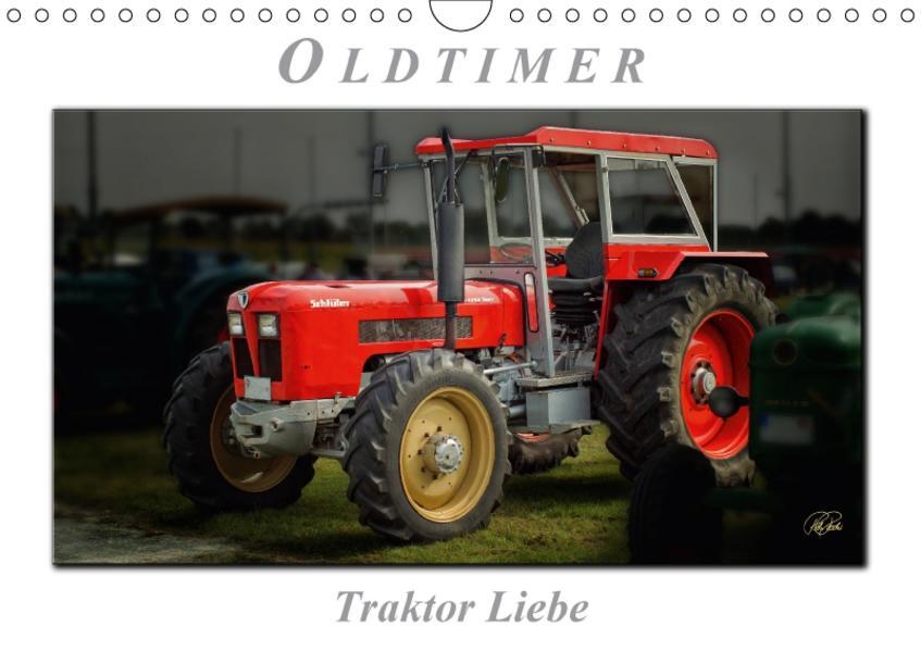 Oldtimer - Traktor LiebeAT-Version  (Wandkalender 2017 DIN A4 quer) - Coverbild
