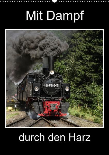 Mit Dampf durch den Harz (Wandkalender 2017 DIN A2 hoch) - Coverbild
