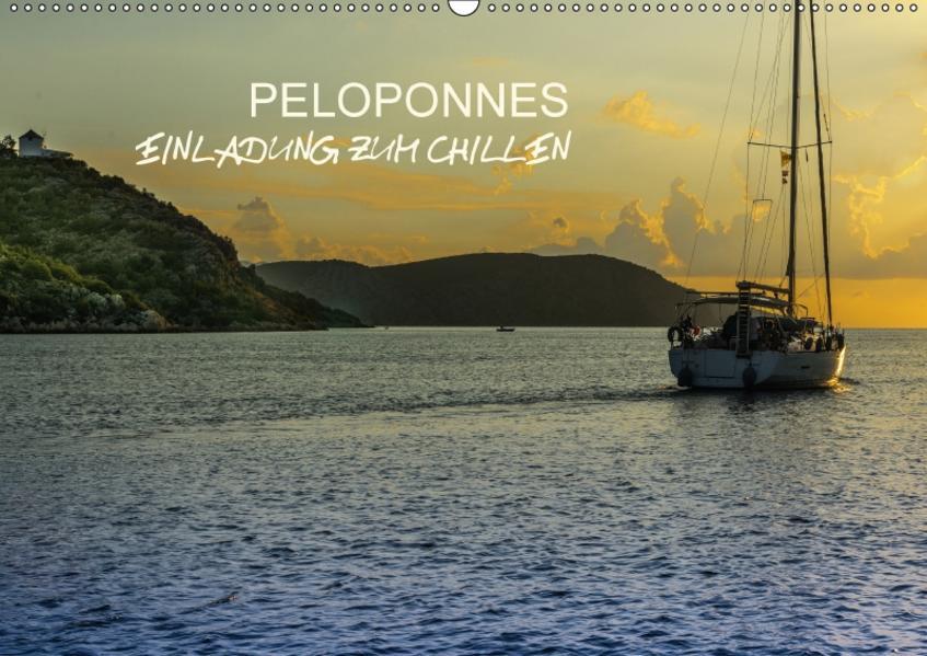 Peloponnes - Einladung zum Chillen (Wandkalender 2017 DIN A2 quer) - Coverbild