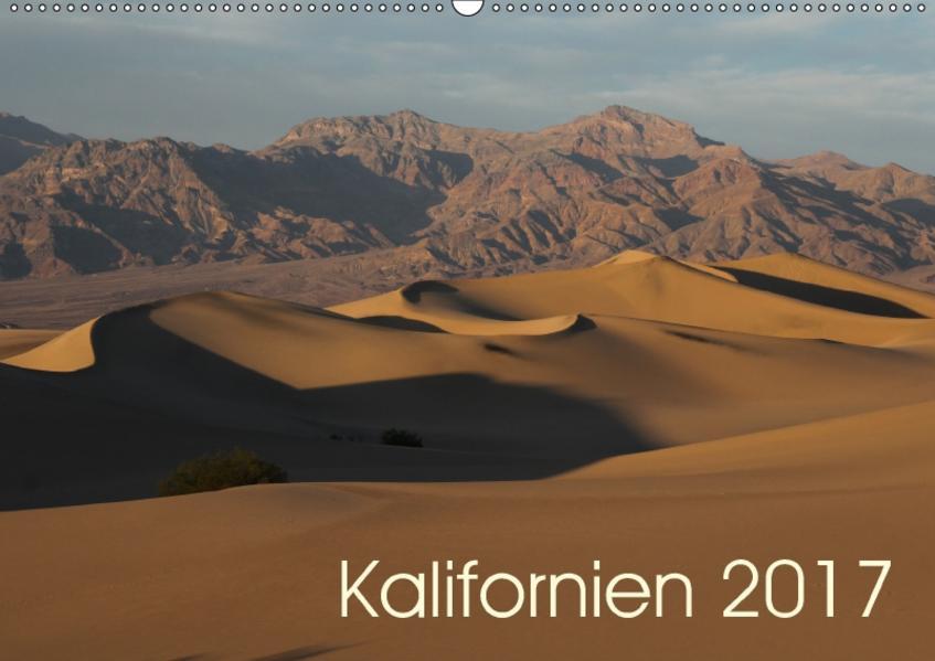 Kalifornien 2017 (Wandkalender 2017 DIN A2 quer) - Coverbild