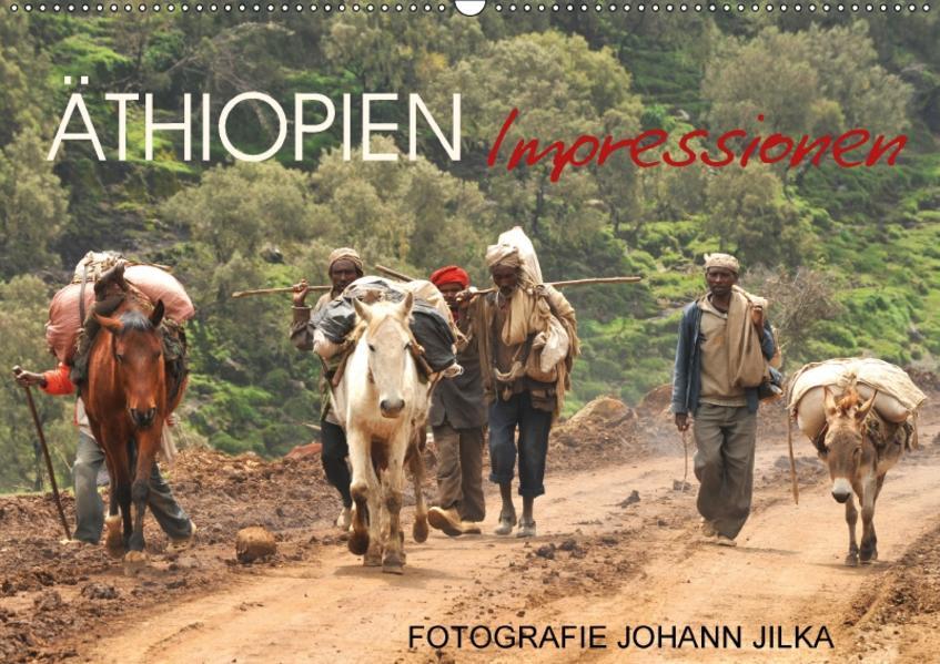 Äthiopien Impressionen (Wandkalender 2017 DIN A2 quer) - Coverbild