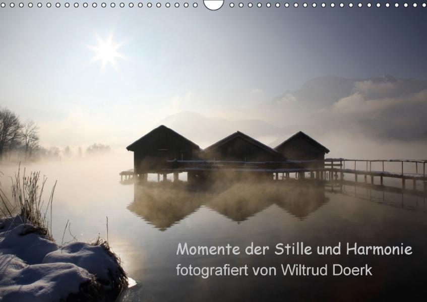 Momente der Stille und Harmonie (Wandkalender 2017 DIN A3 quer) - Coverbild