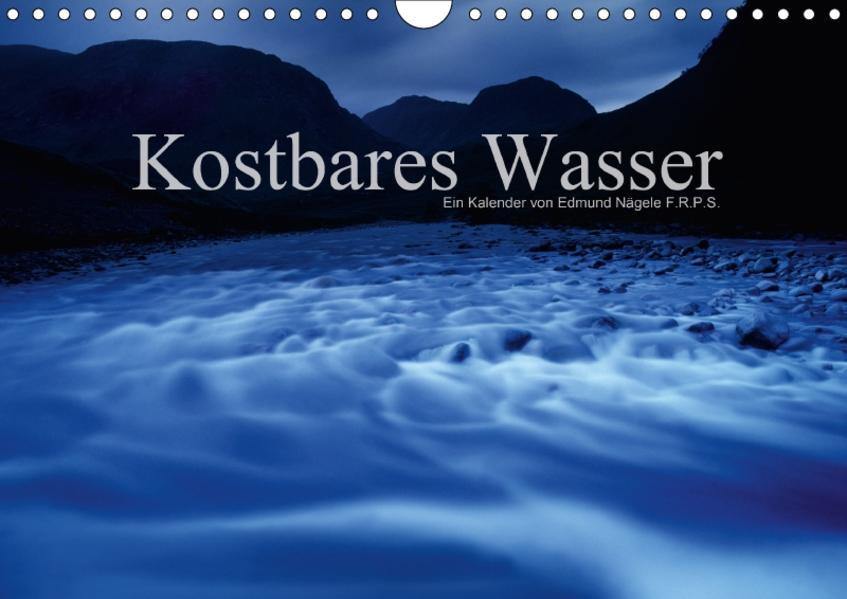 Kostbares WasserCH-Version  (Wandkalender 2017 DIN A4 quer) - Coverbild