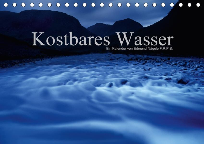Kostbares WasserCH-Version  (Tischkalender 2017 DIN A5 quer) - Coverbild