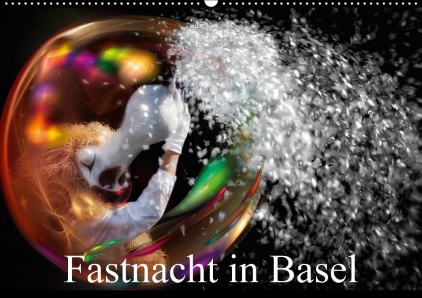Fastnacht in BaselAT-Version  (Wandkalender 2017 DIN A2 quer) - Coverbild