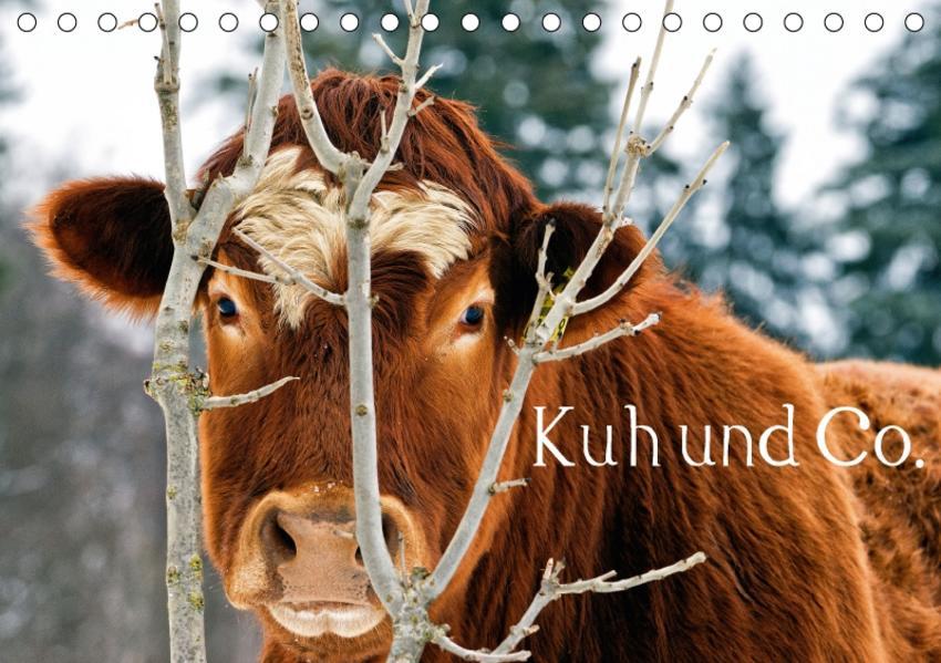 Kuh und Co. (Tischkalender 2017 DIN A5 quer) - Coverbild