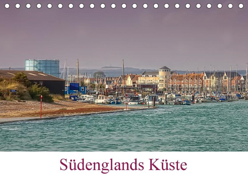 Südenglands Küste (Tischkalender 2017 DIN A5 quer) - Coverbild