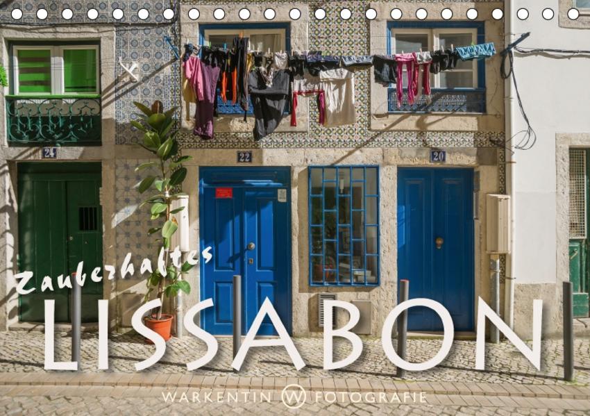 Zauberhaftes Lissabon (Tischkalender 2017 DIN A5 quer) - Coverbild