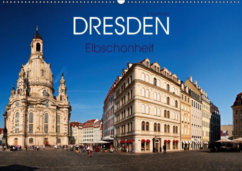 Dresden - Elbschönheit (Wandkalender 2017 DIN A2 quer) - Coverbild