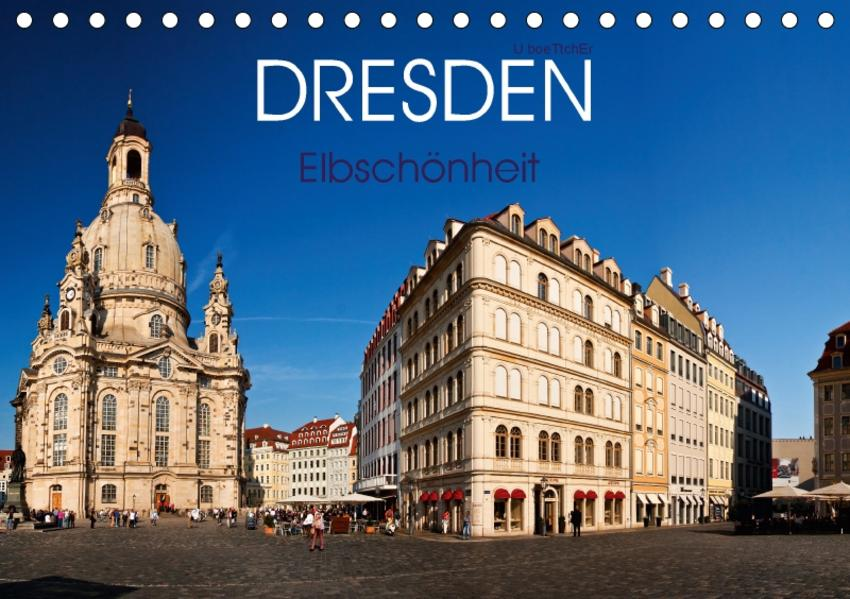 Dresden - Elbschönheit (Tischkalender 2017 DIN A5 quer) - Coverbild