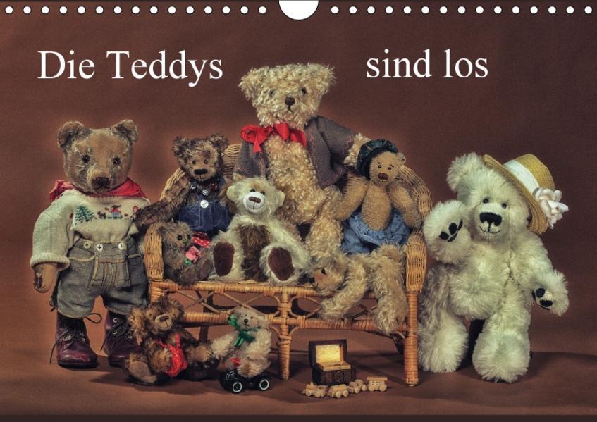 Die Teddys sind los (Wandkalender 2017 DIN A4 quer) - Coverbild