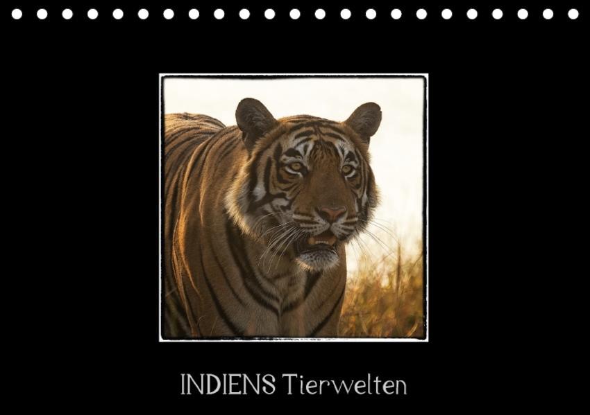 Indiens Tierwelten (Tischkalender 2017 DIN A5 quer) - Coverbild