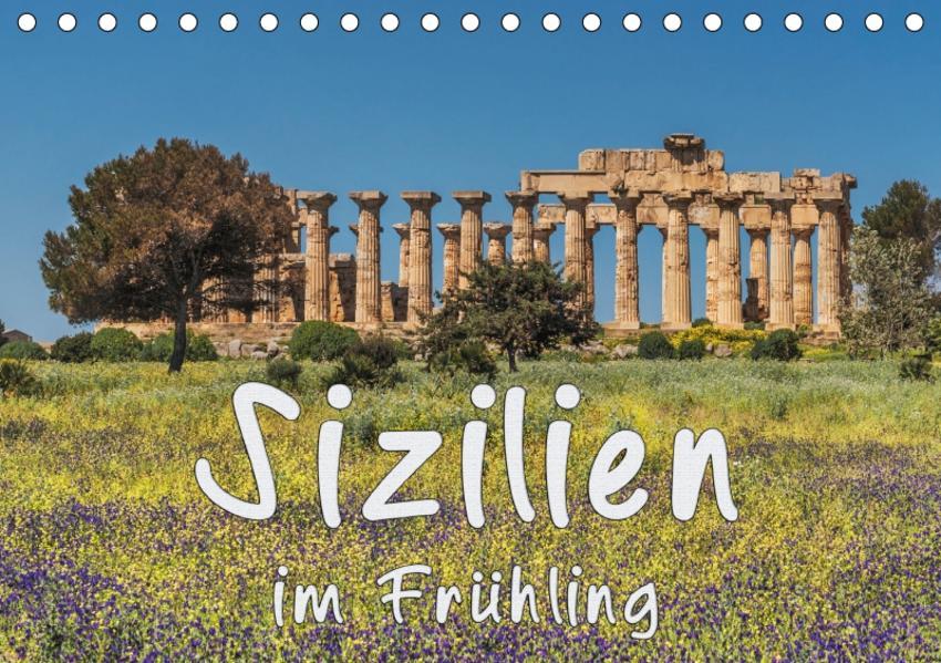 Sizilien im Frühling (Tischkalender 2017 DIN A5 quer) - Coverbild