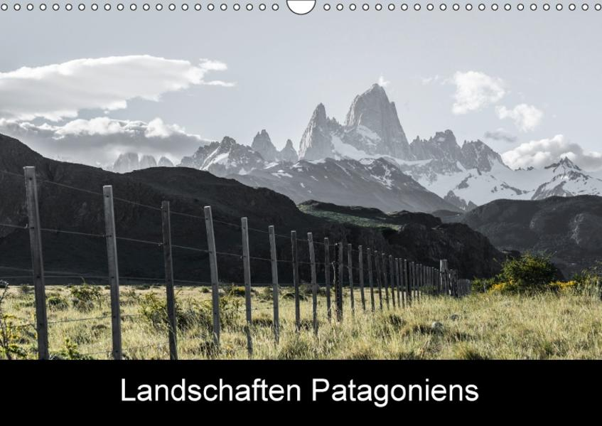 Landschaften PatagoniensAT-Version  (Wandkalender 2017 DIN A3 quer) - Coverbild