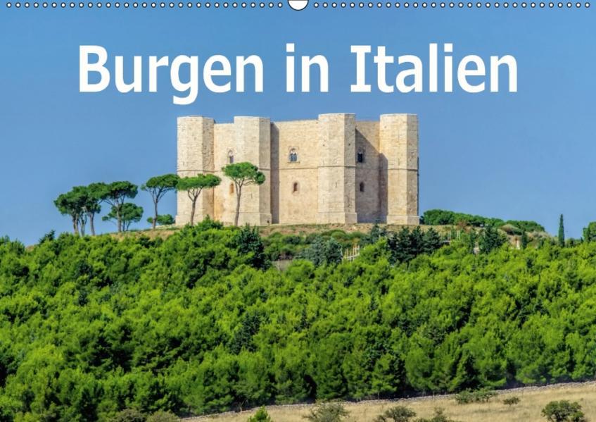Burgen in Italien (Wandkalender 2017 DIN A2 quer) - Coverbild