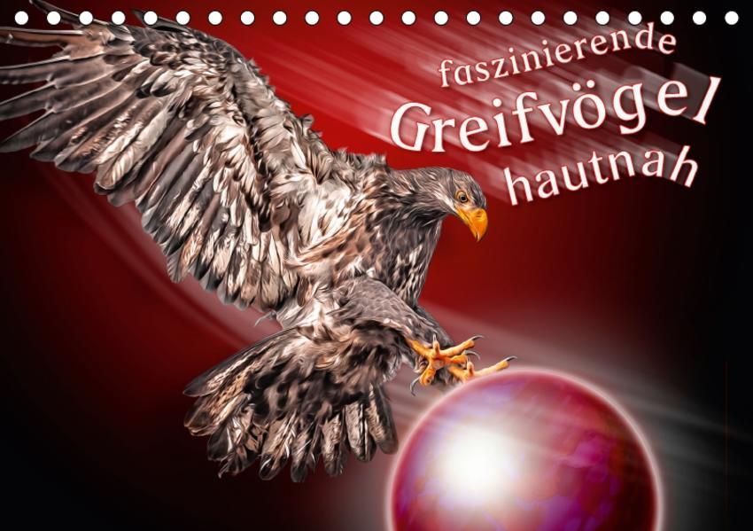 Faszinierende Greifvögel hautnah (Tischkalender 2017 DIN A5 quer) - Coverbild