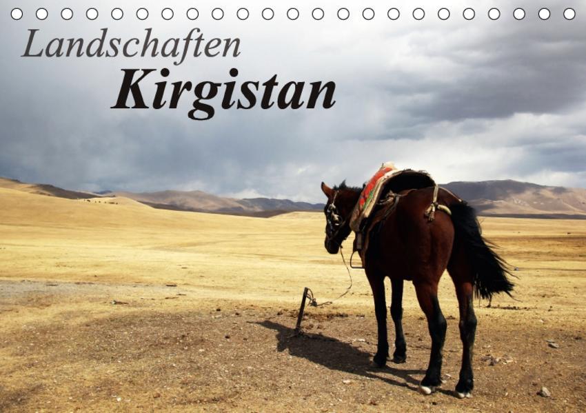 Landschaften Kirgistan (Tischkalender 2017 DIN A5 quer) - Coverbild