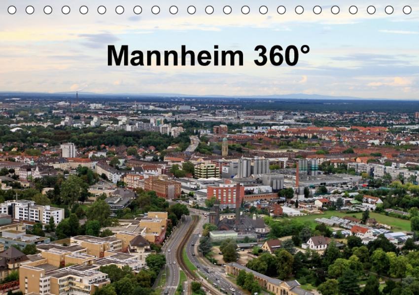 Mannheim 360° (Tischkalender 2017 DIN A5 quer) - Coverbild