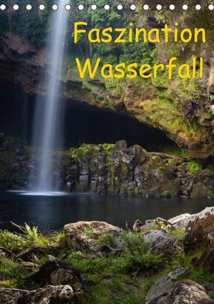 Faszination Wasserfall (Tischkalender 2017 DIN A5 hoch) - Coverbild