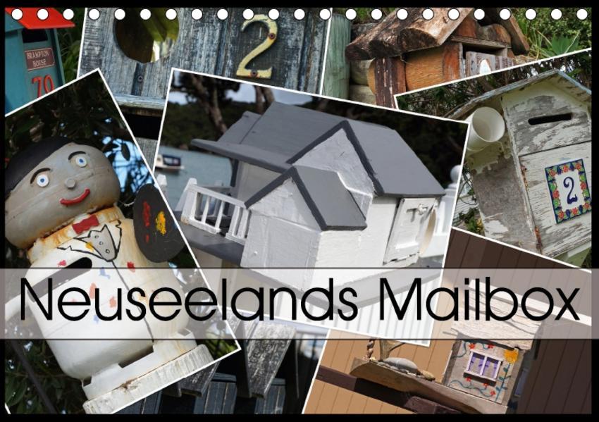 Neuseelands Mailbox (Tischkalender 2017 DIN A5 quer) - Coverbild