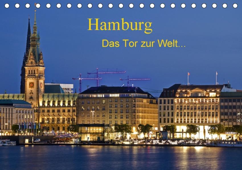 Hamburg . Das Tor zur Welt... (Tischkalender 2017 DIN A5 quer) - Coverbild