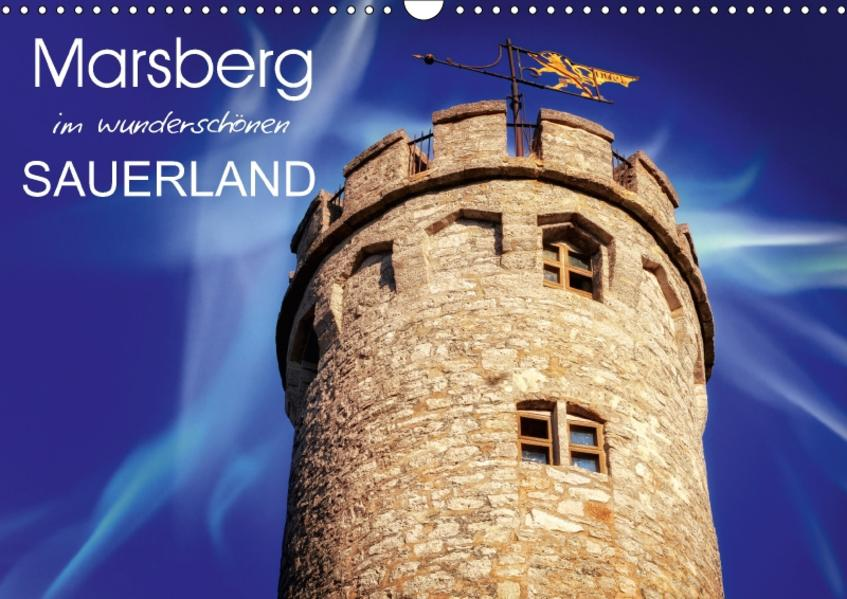Marsberg im wunderschönen Sauerland (Wandkalender 2017 DIN A3 quer) - Coverbild