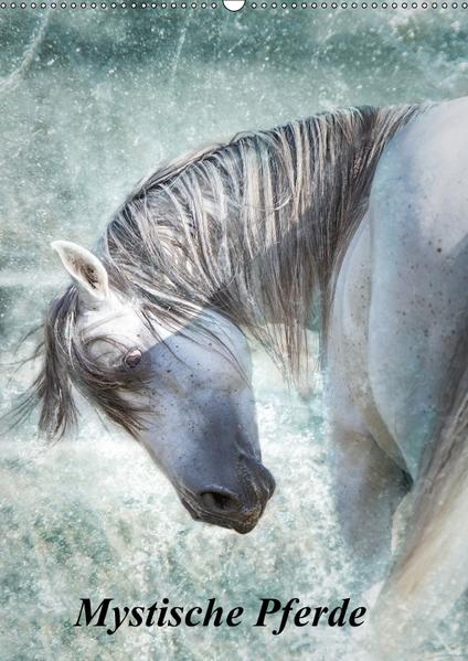Mystische Pferde (Wandkalender 2017 DIN A2 hoch) - Coverbild