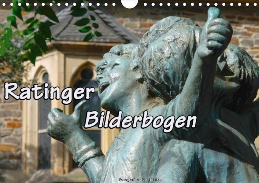 Ratinger Bilderbogen (Wandkalender 2017 DIN A4 quer) - Coverbild